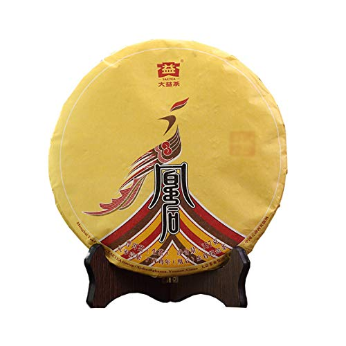 Chinese TAETEA Puerh Raw (Sheng) Dayi Classic Series Yunnan Puer Tea Cake – Original Black Pu'er Gongfu Tea for Weight…