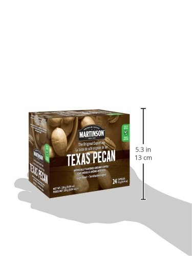 Large Product Image of Martinson Single Serve Coffee Capsules, Texas Pecan, 24 Count