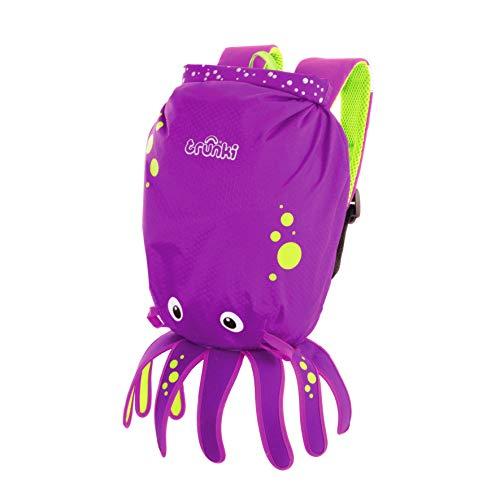 Trunki Paddlepak Inky The Octopus Purple Ride On by Trunki