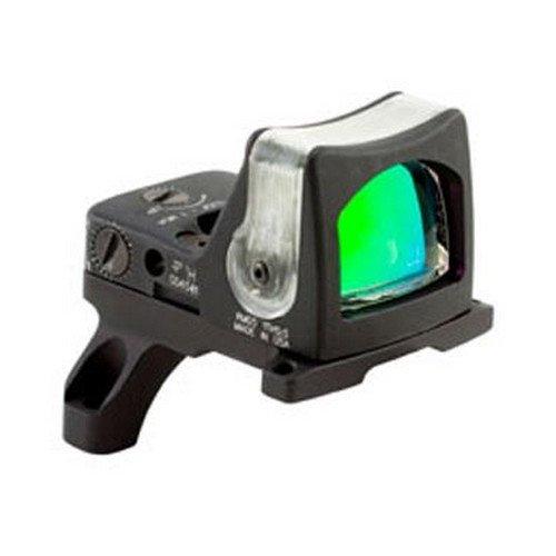9 MOA Dual-Illuminated Amber Dot Sight with RM35 Full Size ACOG Mount with Bosses (Moa Amber Dot)