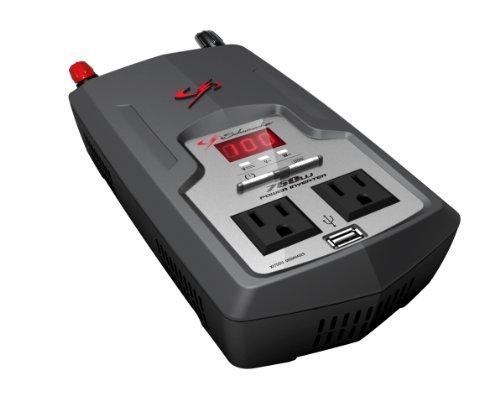 026666709941 - Schumacher XI75DU 750 Watt DC to AC Digital Display Power Inverter carousel main 0