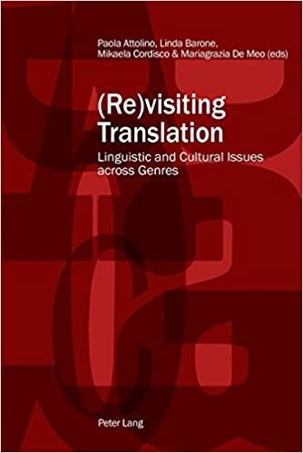 Book (Re)visiting Translation: Linguistic and Cultural Issues across Genres