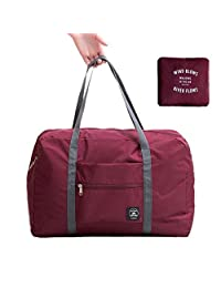 Foldable Travel Duffel Bag Waterproof Nylon Carrying Luggage Bag for Camping,Sports or Gym