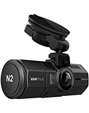"""Vantrue N2 Dual Lens Dash Cam 1080P Front and Rear Dash Camera, 310° Wide Angle 1.5"""" LCD with HDR Car Video Recorder Dashboard Camera with Parking Mode, Front Camera Night Vision Effects, Optional GPS Function, Motion Detection, G-Sensor & Time Lapse"""