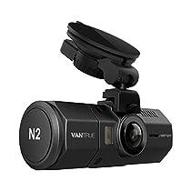 前後カメラ 1080P ドライブレコーダー VANTRUE N2 2カメラ デュ...