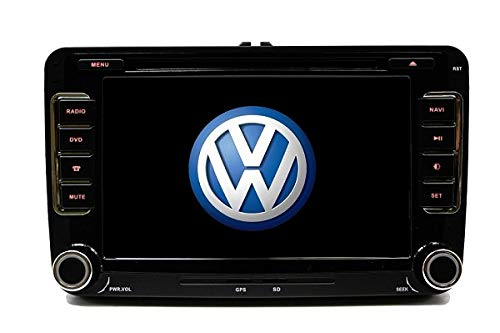 GPS Navigation Radio Bluetooth Touch Screen OE Fitment for Volkswagen Jetta 06-14 (Fits: EOS 07-14, Caddy 10-14, Tiguan 09-14, Golf/GTI 03-14, CC 09-14, Passat 07-14)