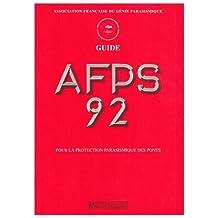 GUIDE AFPS 92 POUR PROTECTION PARASISMIQUE PONTS