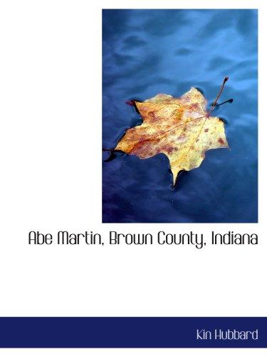 Abe Martin, Brown County, Indiana PDF