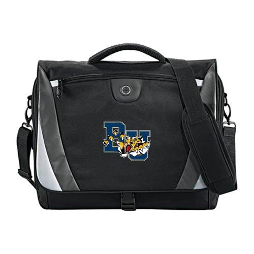 Brandon Slope Black/Grey Compu Messenger Bag 'Official Logo' by CollegeFanGear
