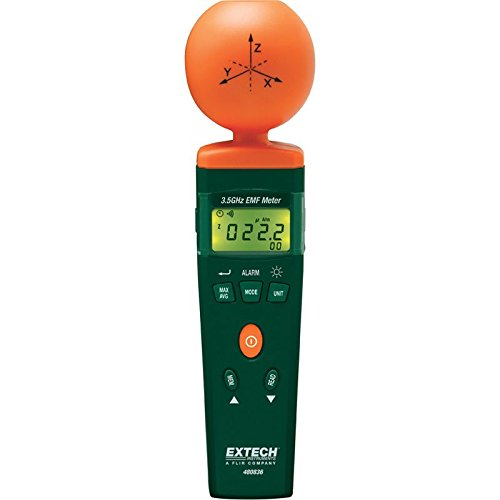 Extech 480836 EMF Strength Meter 3.5GHz RF ()