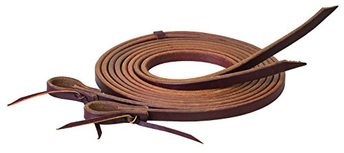 "Working Tack Extra Heavy Harness Split Reins, 5/8"" x 8'"