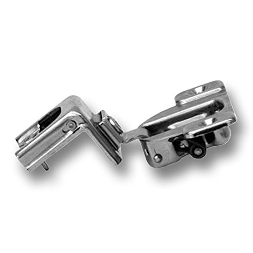 Blum 39C355B.20x20S 1-1/4'' Overlay Soft Close Cabinet Hinge, Nickel Plated Steel, Nickel Finish (Pack of 20) by Blum (Image #1)