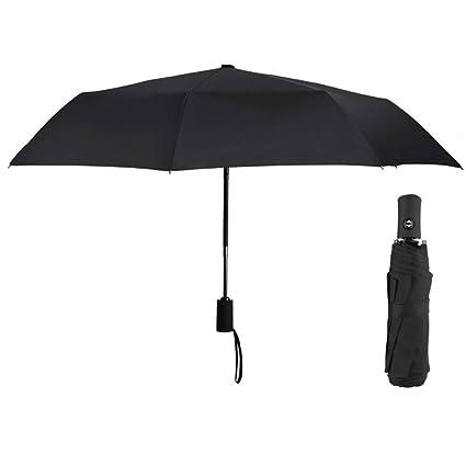 Amazon.com: Simenmax - Paraguas plegable con interruptor ...