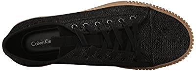 CK Jeans Men's Jerome Denim Suede Fashion Sneaker