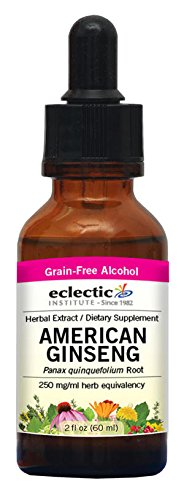 Eclectic American Ginseng O, Red, 2 Fluid Ounce