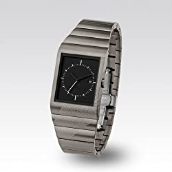 "Zerone Crossover Usugrow ""SHIKKOKU"" IP Titanium Analogue Watch"