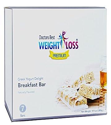 Doctors Best Weight Loss - Greek Yogurt Delight Breakfast Diet Protein Bar (7/box)