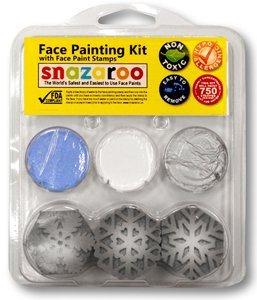 Snazaroo Snowflake Stamp Kit (3 colors)