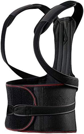 女性のための調節可能な姿勢補正 - バック補正肩腰椎サポートベルト - 控えめな、痛みを軽減、姿勢を改善 (Size : XXL)