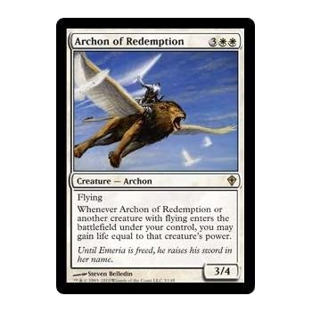 Overig Magic: The Gathering, MTG) ~ Magic MTG Indomitable Archangel ~ Scars of Mirrodin ~ NearMint/Excellent