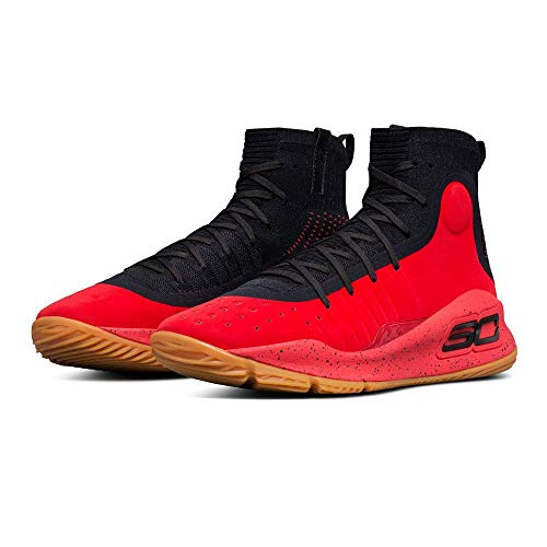 Under Armour Curry 4 Men's Basketball, Size 10, Color Red