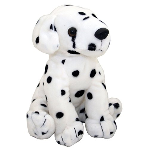 (Anico Plush Toy Dog, Stuffed Animal, Dalmatian, 8 Inches Tall)