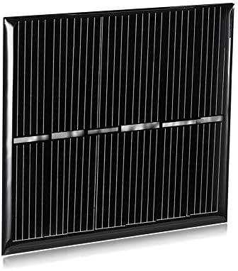 XIEQUN LDTR-WG0069 / H 3 V 150 mA 60 x 55 mm Polykristalline Siliziumsolarzelle - SCHWARZ