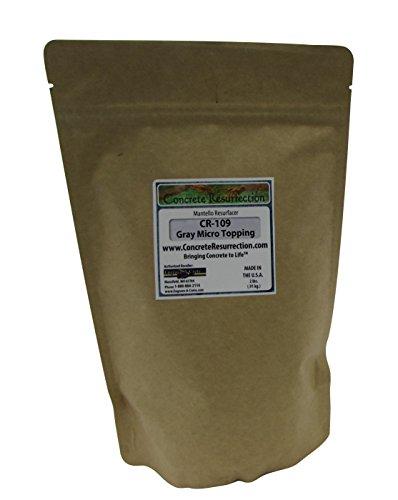 mantello-microtopping-14lb-sample-bag-gray