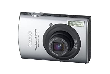 amazon com canon powershot sd870is 8mp digital camera with 3 8x rh amazon com canon sd870is manual Canon EOS 650 Manual