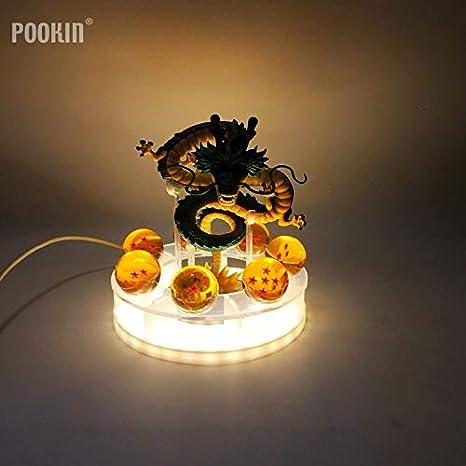 Amazon.com: Dragon Ball Lamp Son Goku Kamehameha - Lámpara ...
