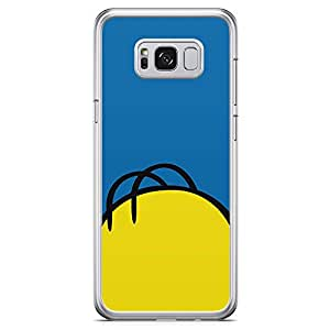Loud Universe Homer Simpson Bald Hair Samsung S8 Plus Case The Simpsons Samsung S8 Plus Cover with Transparent Edges