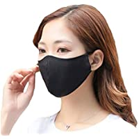 ROSEWARD 100% Mulberry Silk Face Mouth Mask with Filter Pocket Adjustable
