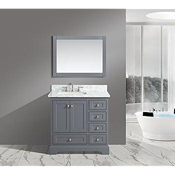 UrbanFurnishing.net - Jocelyn 36-Inch (36 ) Bathroom Sink Vanity Set & Amazon.com: UrbanFurnishing.net - Jocelyn 36-Inch (36