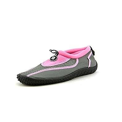 Starbay Womens Water Shoe Aqua Sock,5 B(M) US,Pink 2907