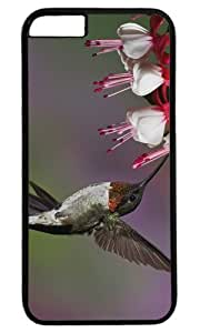 Hummingbird Bird in nature Masterpiece Limited Design PC Black Case for iphone 6 plus by Cases & Mousepads