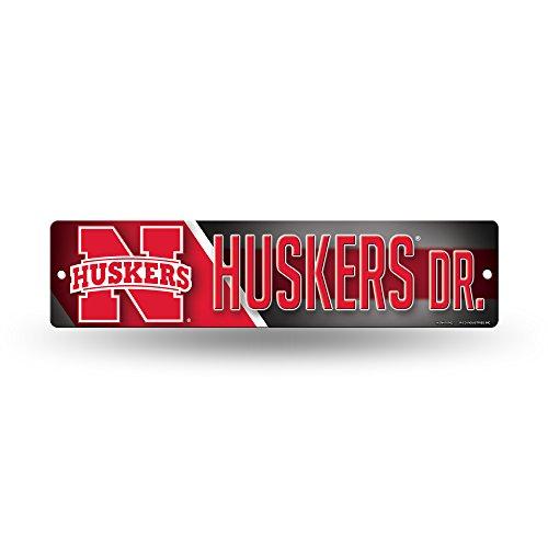 NCAA Nebraska Cornhuskers Metal Parking Sign