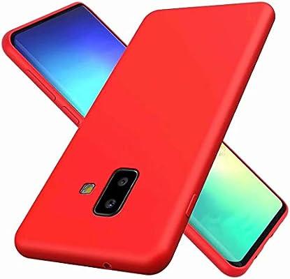 Ryuan Compatible con Samsung Galaxy J6 Plus Silicona Líquida Caso ...