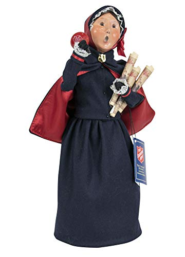 Byers' Choice Salvation Army Woman Caroler Figurine from The Salvation Army Collection #4411C (New 2019)
