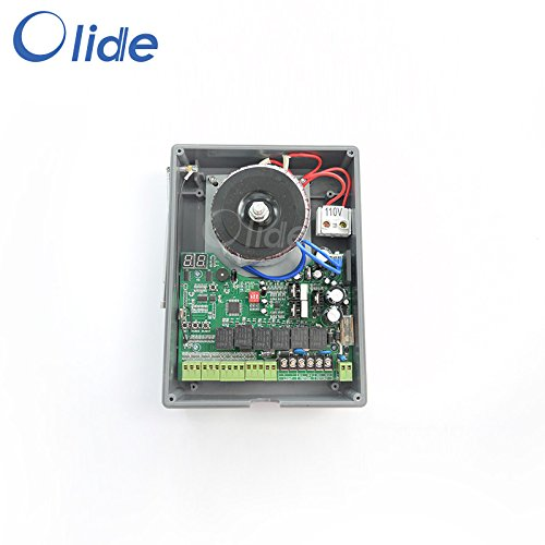 Olide SD1108 Remote Control Automatic Swing Gate Opener With Electric Lock&Photocell&Alarm Lamp