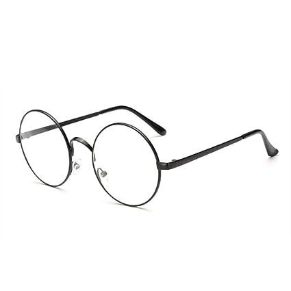 6ddda4cb1a05f XCYQ Montura De Gafas Gafas Redondas para Mujer Gafas con Lentes  Transparentes Gafas De Montura De