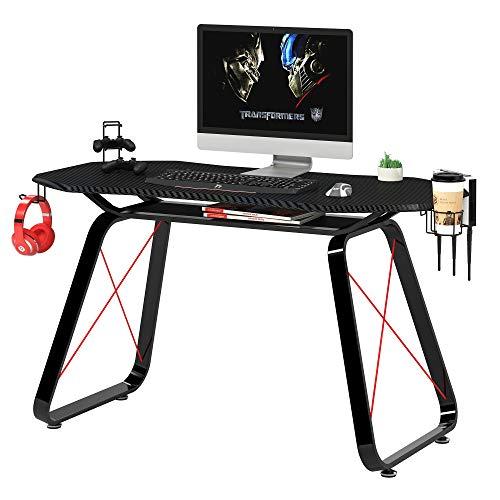 Mahmayi Ultimate Modern Gaming Table, W146 x D68.5 x H76cm, Black, GT010-Gm-Tble