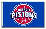 NBA Detroit Pistons Banner Flag 3-Foot by 5-Foot