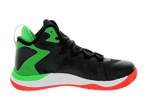 Zapatos Nike Jordan Jordan niños Super.fly 3 Bg Baloncesto Black/Infrared 23/Lt Green Spark