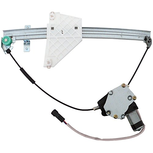 UPC 707773634202, ACDelco 11A127 Professional Rear Driver Side Power Window Regulator with Motor