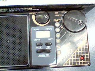 Travelers LCD 2 Bands FM/AM Clock Radio