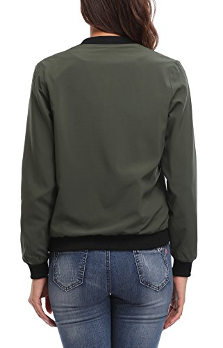 Lined with Blouson MISS Green Femme MOLY Army Ww8ZqqvYaT
