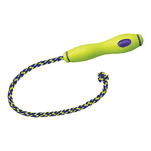 Squeaker Fetch Stick w/Rope Large ()