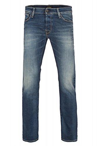JACK & JONES Jjiglenn Jjicon 653 Noos, Jeans Hombre Azul