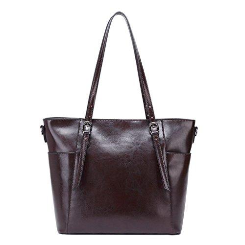viaggio 1 università 6 Donna Tipo In A Tracolla Pelle Spalla Vintage Messenger D'affari Borsa Bag Sucastle Pwf64f