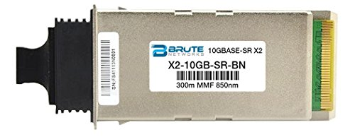 Cisco X2-10GB-SR - 10GBASE-SR 300m 850nm X2 (100% Compatible) by Brute Networks